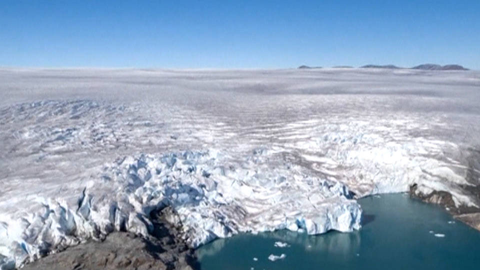 H16 greenland glacier ice sheet melting