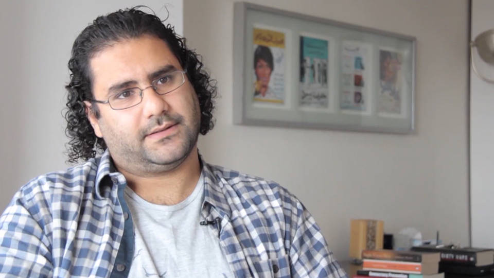 H8 egypt dissident alaa abd el fattah arrested protests