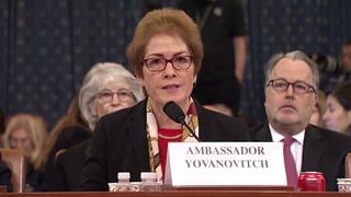 H3 impeachment hearings trump ukraine marie yovanovitch bidens testimony