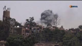 H8 syria raqqa explosion