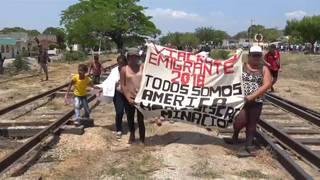 H3 caravan protest