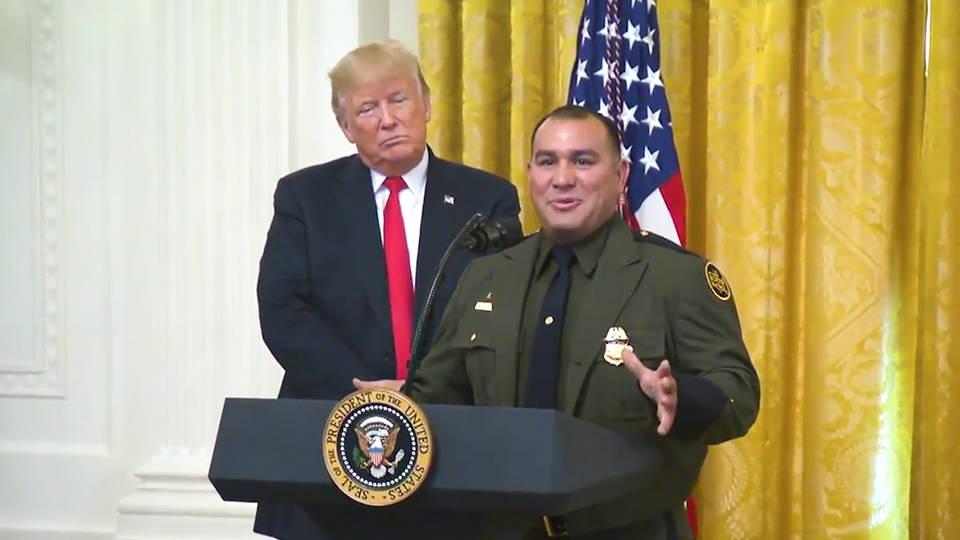 H3 trump racist comment against border guard