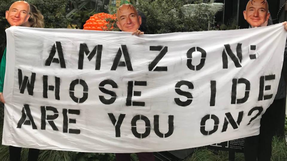 H17 amazon protest