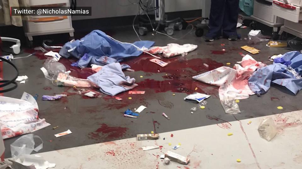 H5 doctor tweet gun wound