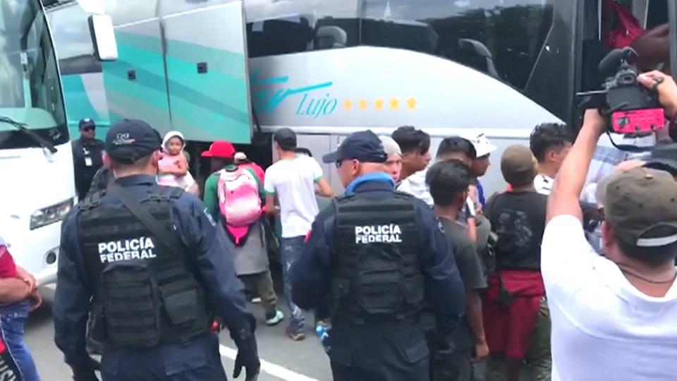 H1 us mexico trade deal border migrants immigration