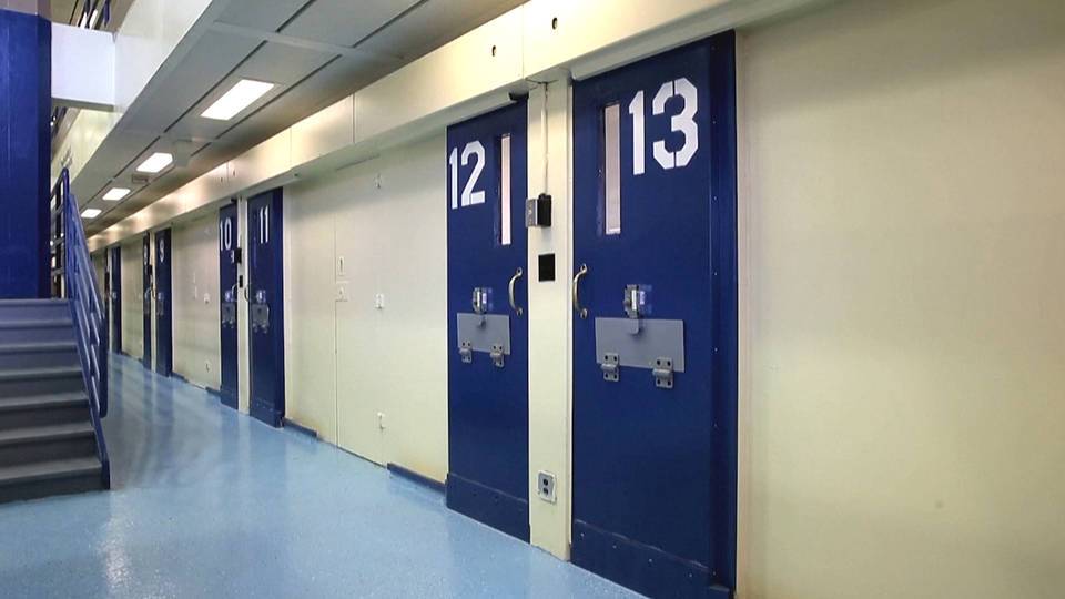 H8 rikers island officers suspended teenager hanging suicide attempt video