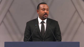 H10 ethiopia prime minister abiy ahmed nobel peace prize oslo