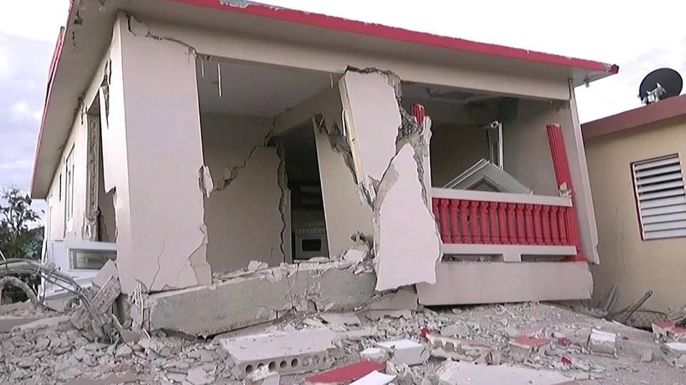 H3 trump declares national emergency puerto rico earthquake