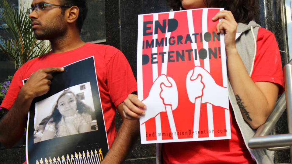 Canada detention hunger strikes 1