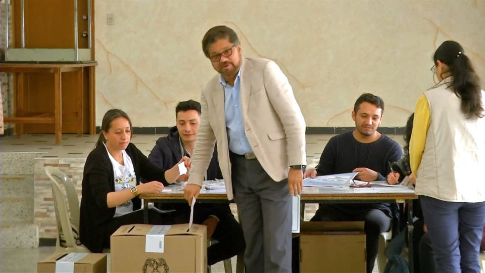 H11 farc columbia elections