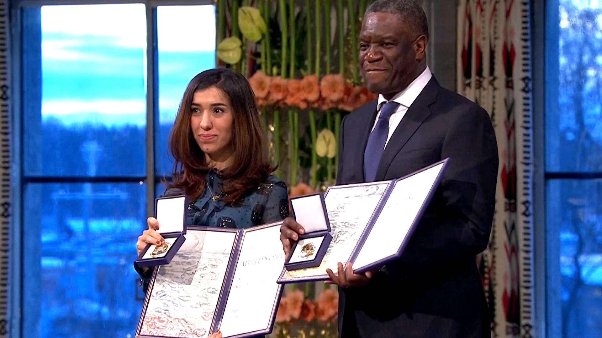 Nobel Peace Prize Awarded to Nadia Murad & Dr. Denis Mukwege