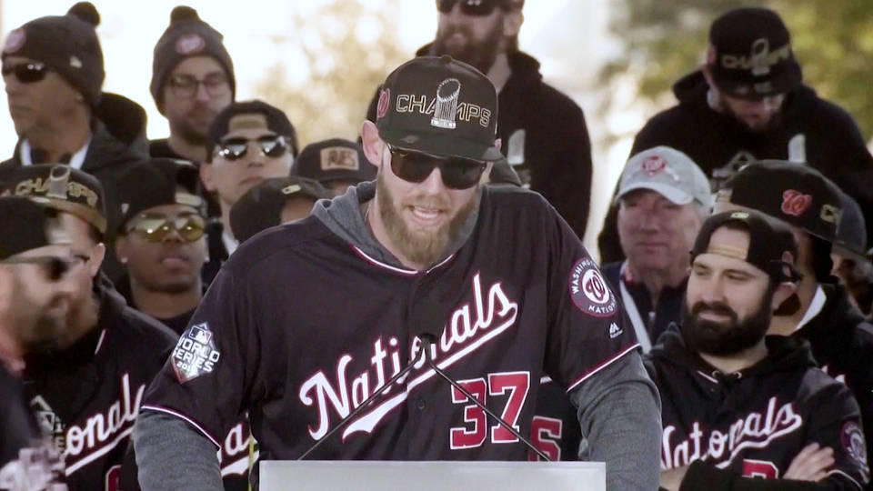 H18 nationals pitcher sean doolittle boycotts white house visit protest against trump