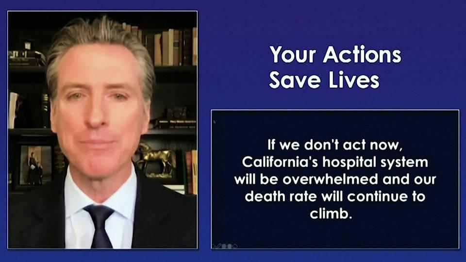 Some California Sheriffs Won't Enforce Newsom's Stay-Home Order