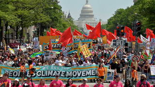 H01 climate march