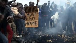 H5 kenya protest