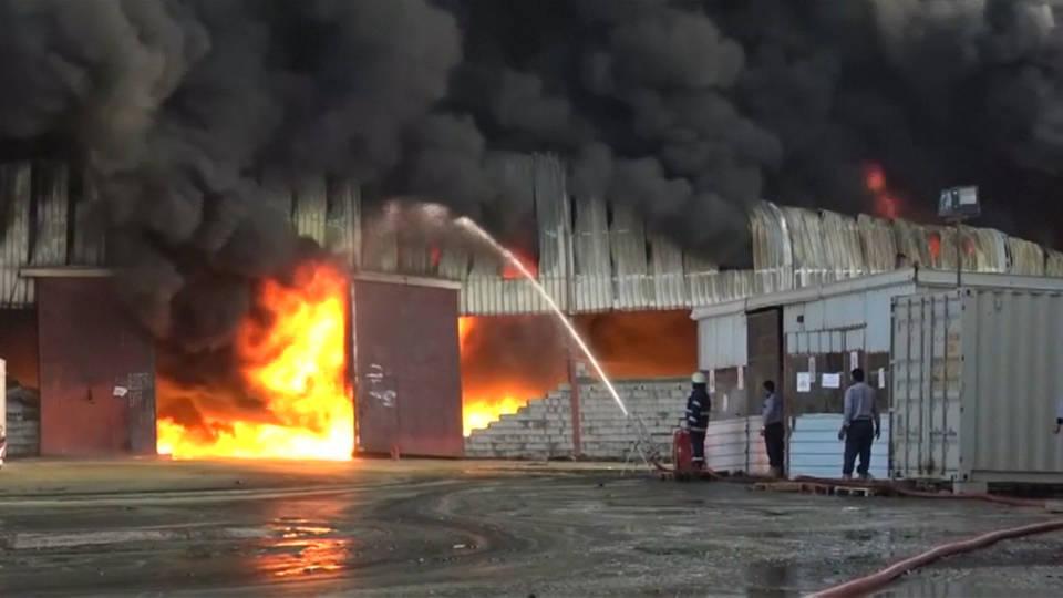 H6 yemen fire