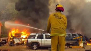 H1 wildfire california