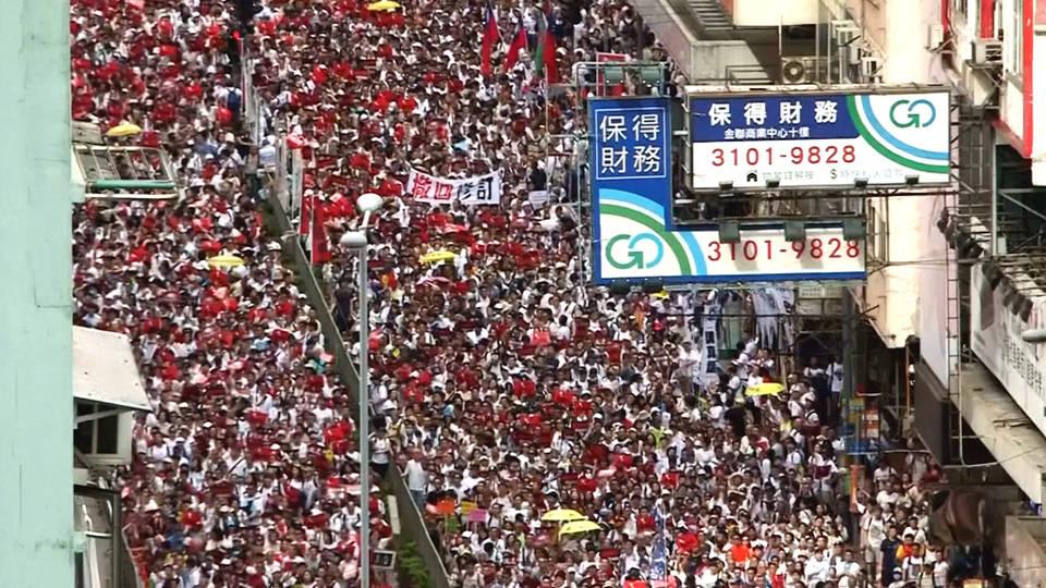 H4 protests hong kong china extradition bill