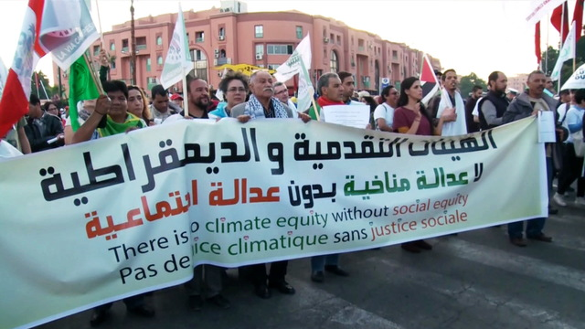H08 morocco climate march