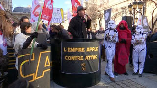h17 france apple tax protest