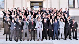 H13 students nazi salute
