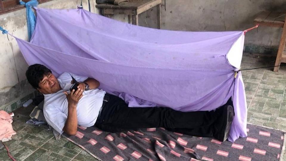 H1 bolivia coup evo morales asylum mexico