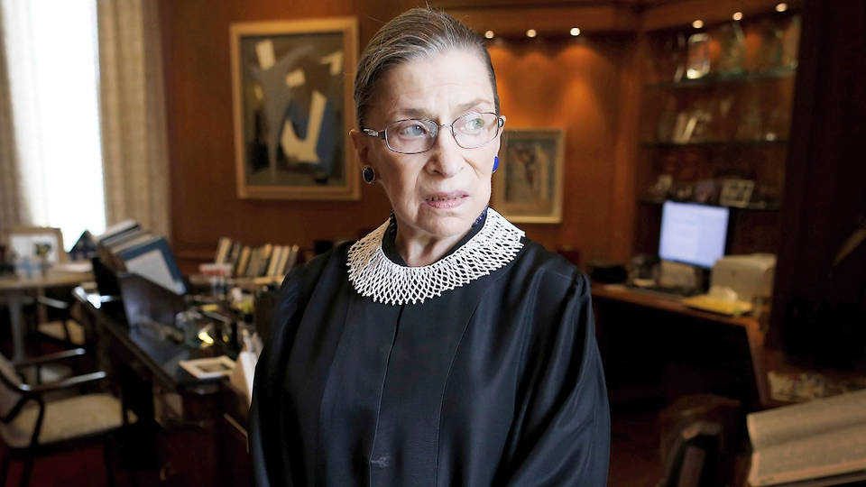 H5 ruth bader ginsburg released hospital good health supreme court justice liberal wing