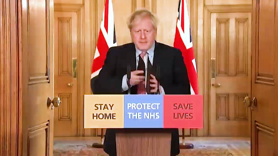 UK PM Boris Johnson admitted to intensive care for coronavirus treatment