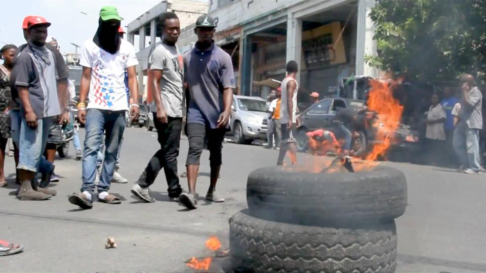 H7 haiti anti imf austerity protests