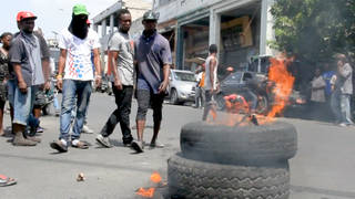 H7 haiti anti imf austerity protests