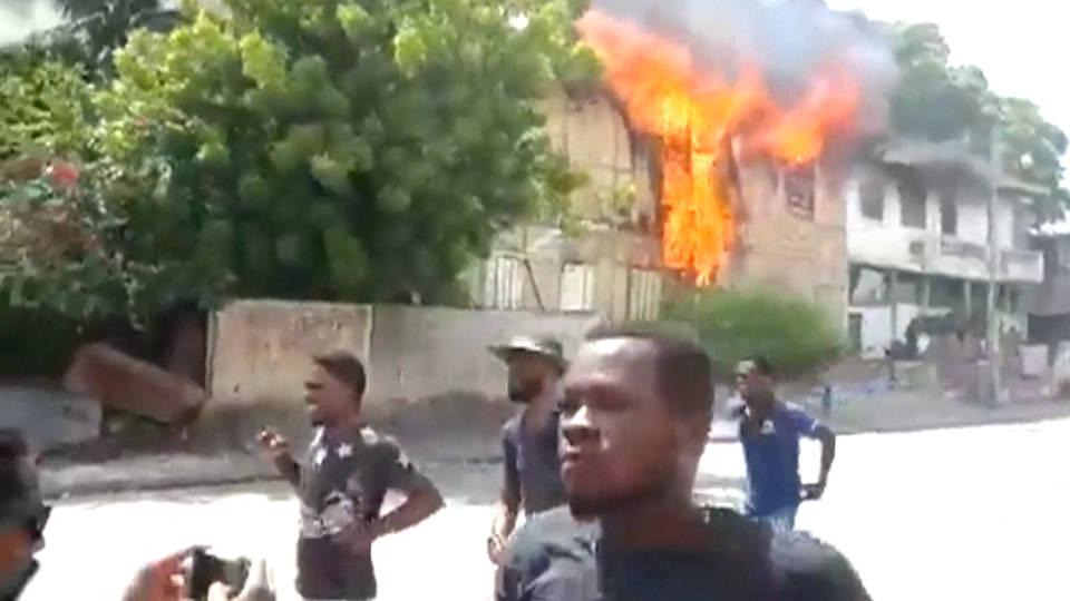 H5 haiti protests deaths port au prince moise corruption