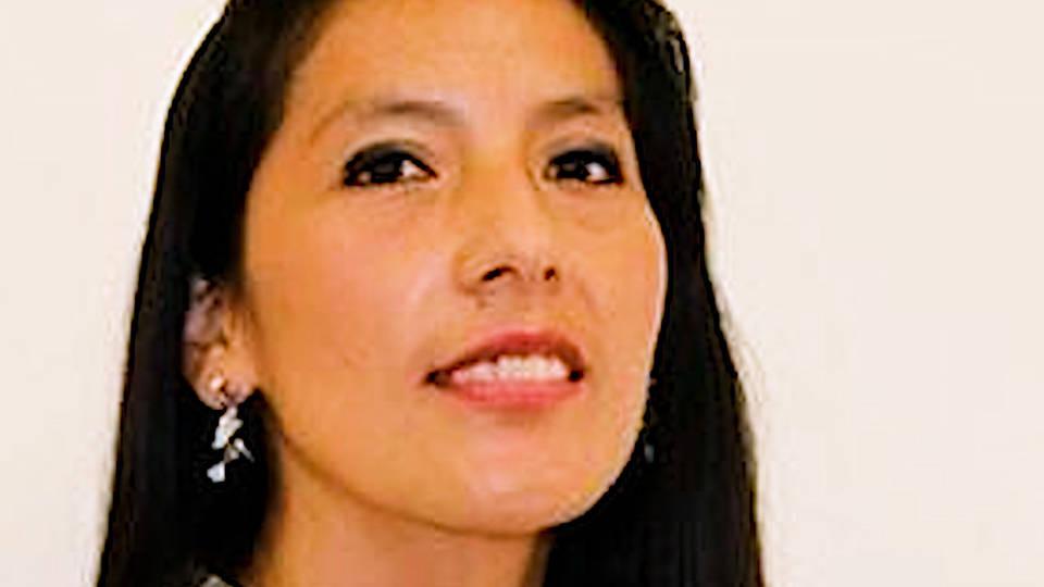 H13 peru graduate student makes history writing defending thesis quechua roxana quispe collantes