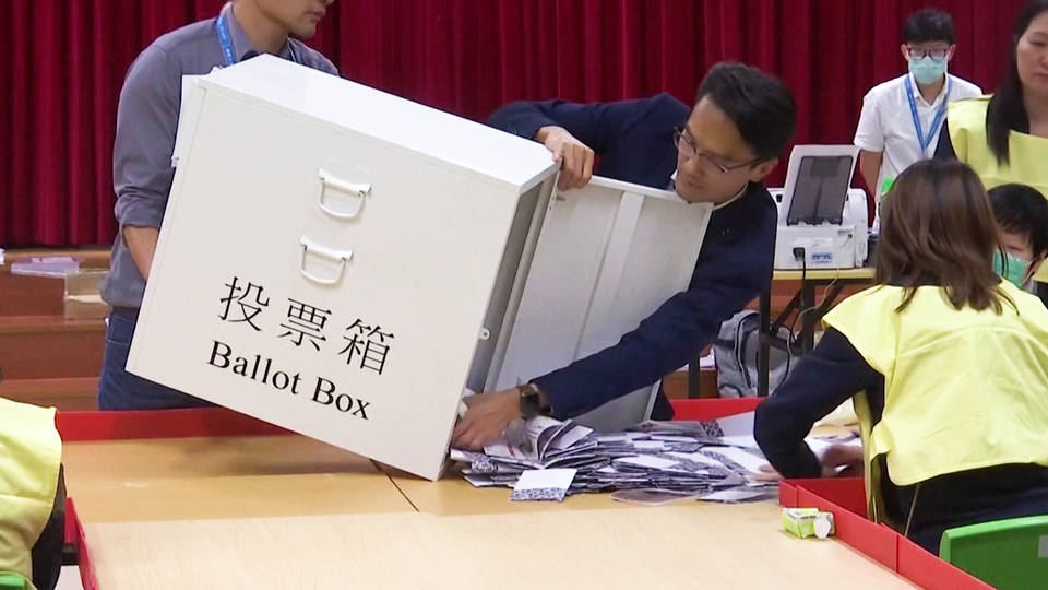 H6 hong kong pro democracy candidates win nearly 90 percent seats local elections