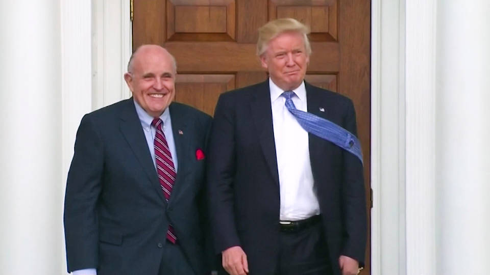 Giuliani Was Involved in 'Back-Channel' Venezuela Talks