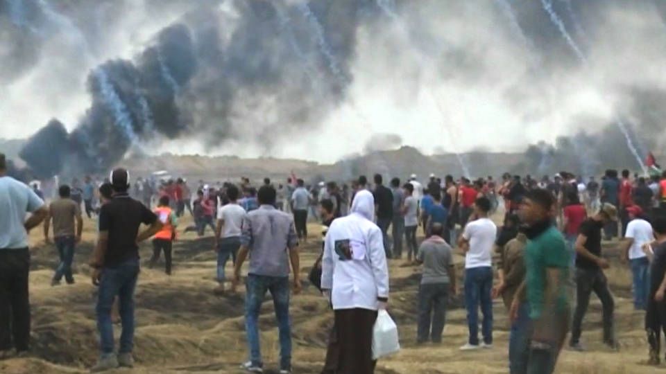 H3 palestinian protesters killed by idf