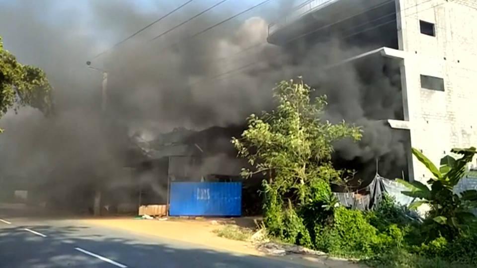 H8 sri lanka muslim violence curfew