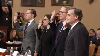 H1 impeachment house judiciary committee four law experts constitutional nature