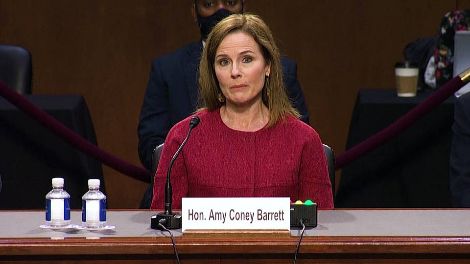 Residents with pre-existing conditions make plea to delay Amy Coney Barrett confirmation