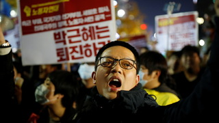 H11 s korea protest