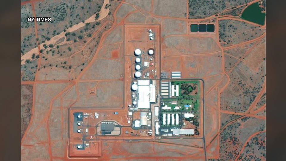 h13 us army base australia protest