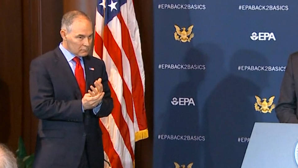 H7 pruitt epa security scrutiny