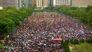 H2 hong kong mass demonstration