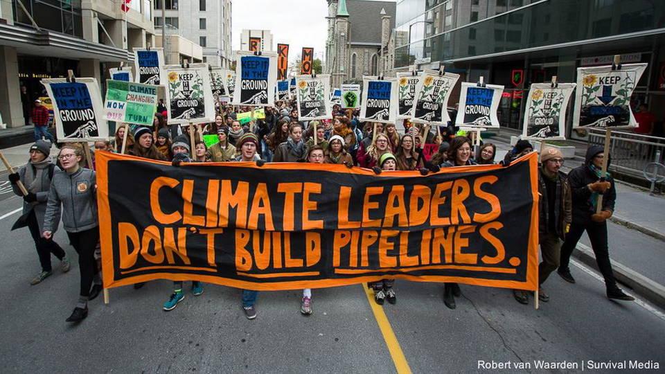 H02 canada pipeline protest