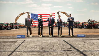 H donald trump foxconn scott walker groundbreaking