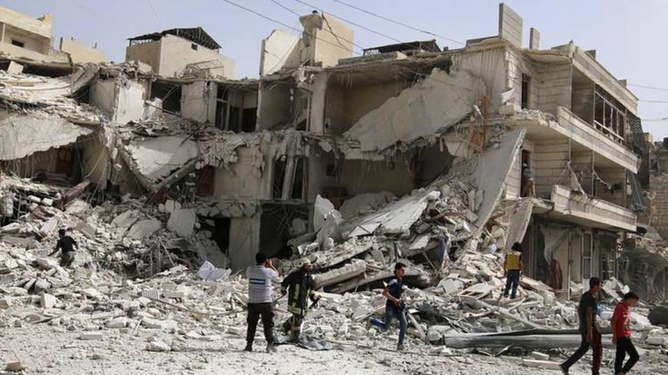 H9 syria airstrike