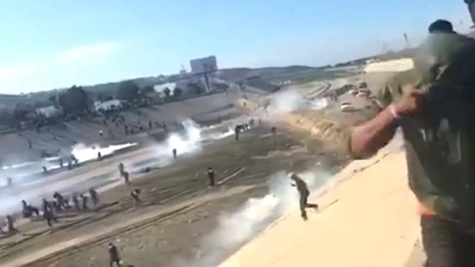 H4 border patrol tear gas