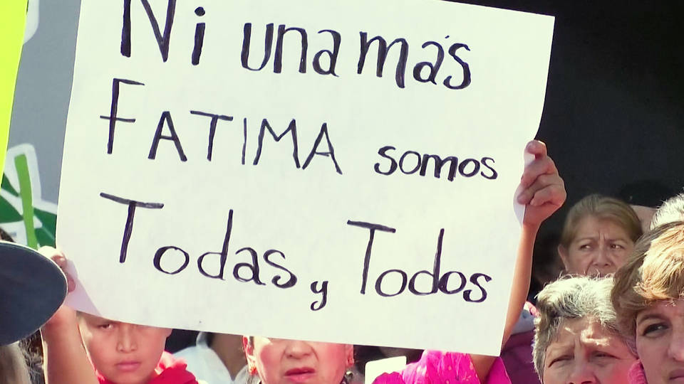H6 mexican protests take government to task after murder 7 year old girl