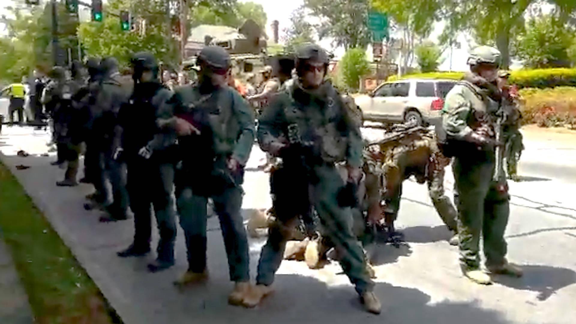 Pa Gun Shows >> Georgia: Police Arrest 10 Anti-Fascist Protesters as Neo ...