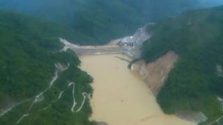 H9 colombia cauca river dam burst danger