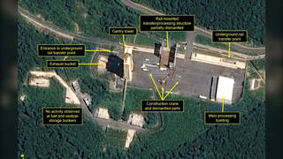 H3 north korea missile site